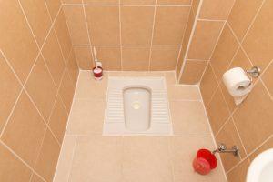 Les atouts et inconvénients du wc à la turque