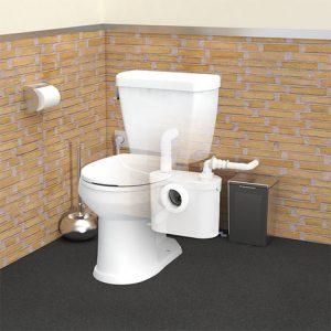 Broyeur adaptable wc SFA SANIBROYEUR PRO UP