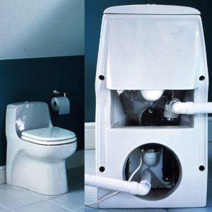 Comment fonctionne un WC avec broyeur compact ?