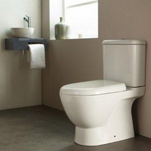 phto d'un wc à poser dans une salle de bain