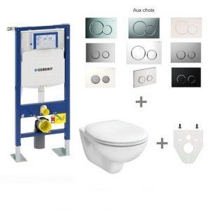 Pack WC suspendu Geberit autoportant